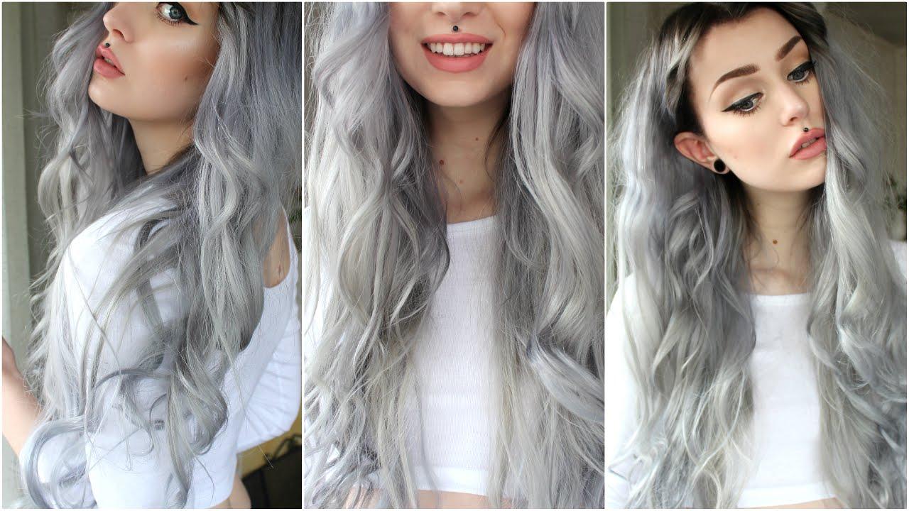 Как сделать белые волосы на