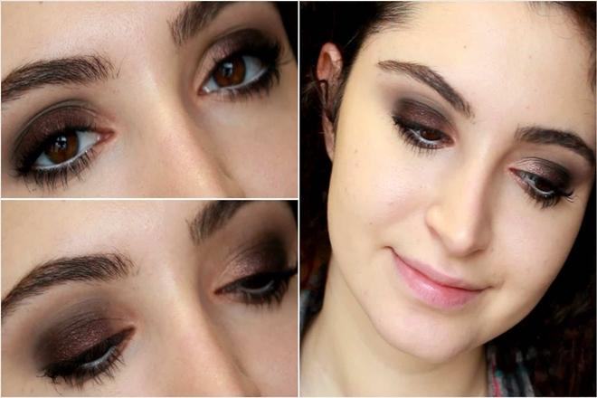 Buğulu Göz Makyajı 1
