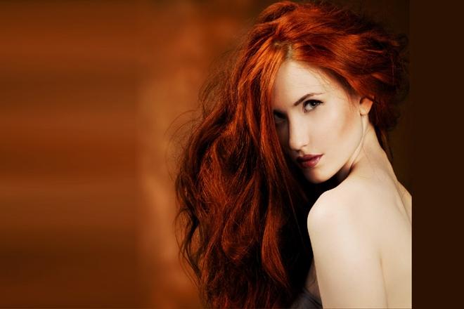 Kısa Kızıl Saç Modelleri Yapımı 3