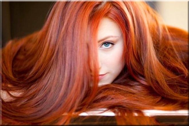 Kızıl Saç Rengi Tonları 1