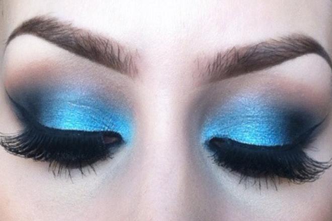 Mavi Göz Makyajı Nasıl Yapılır