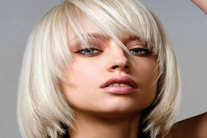 Düz Kısa Saç Modelleri 7